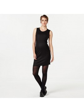 Love2Wait Zwangerschaps Dress Black Elegance