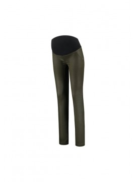 Love2Wait Zwangerschaps Jegging Coated Green