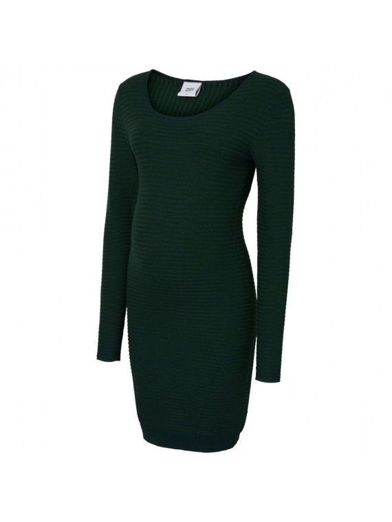 Mamalicious Zwangerschaps Dress Lolan Eden Green