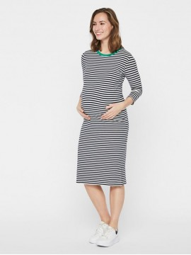 Mamalicious Zwangerschaps Dress Gina Stripe