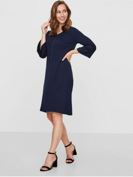 Mamalicious Zwangerschaps Nursing Dress Violetta Navy