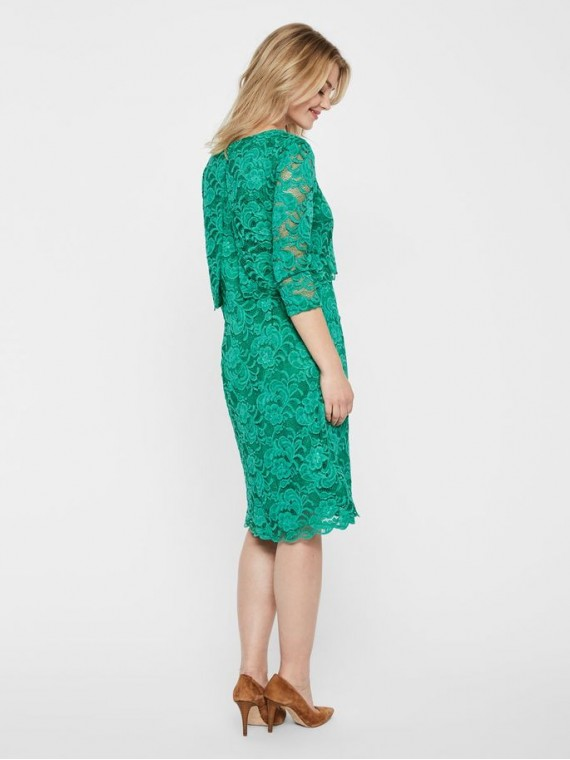 Mamalicious Zwangerschaps Nursing Dress Mivana June Green