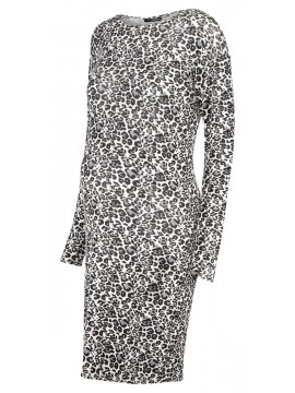 Supermom Zwangerschaps Dress Leopard