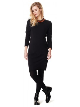 Supermom Zwangerschaps Dress Black Turtle