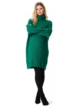 Supermom Zwangerschaps Dress Knit Green