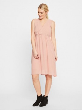 Mamalicious Zwangerschaps Nursing Dress Yolanda Misty Rose