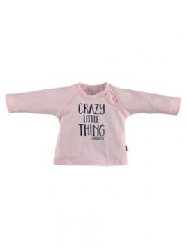 Bess Babyshirtje Girl Crazy Little Thing Pink