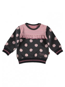 Bess Sweater Dots Anthracite