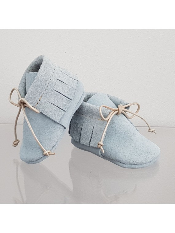 BY.E.Little Shoes Boho Baby Blue