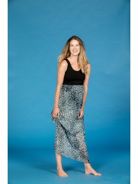 Love2Wait Zwangerschaps Maxi Dress Leopard
