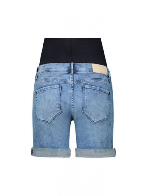 Love2Wait Short Denim Stone Wash