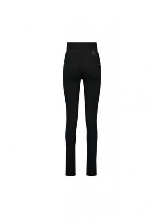 Love2Wait  Zwangerschaps Strech Jeans superstretch Sophia Black