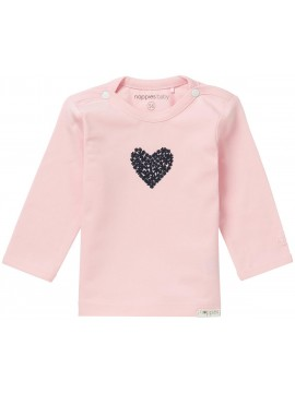 Noppies Longsleeve Natick Light Rose