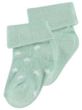 Noppies Socks 2-pack Levi Stars Grey Mint