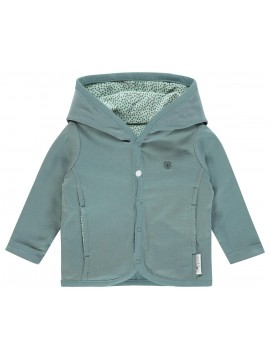 Noppies Vestje Haye Grey Mint