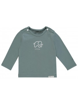 Noppies longsleeve Amanda Elephant Dark Green