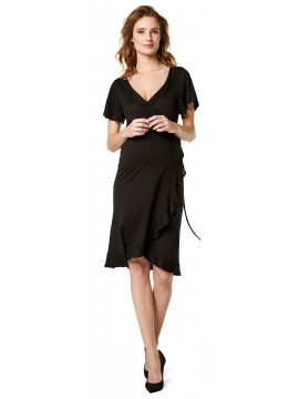 Supermom Zwangerschapsdress Nursing Wrap Black