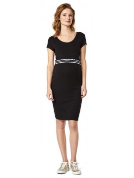 Supermom Zwangerschapsdress Elastic Black