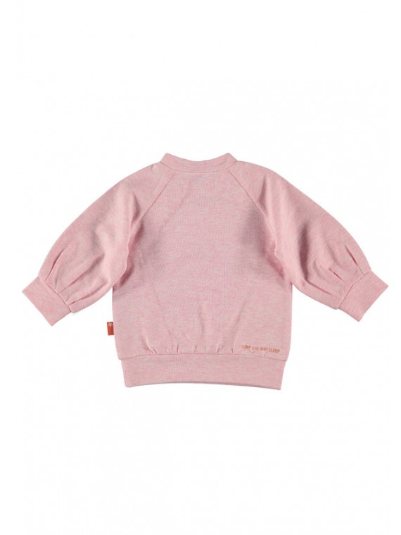 Bess Sweater Lovely Days Ruffles Pink-