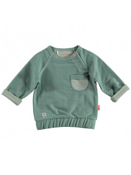 Bess Sweater Pocket Green