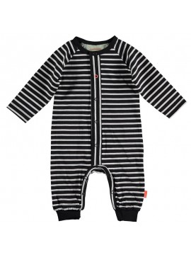 Bess-babypakje Striped Anthracite