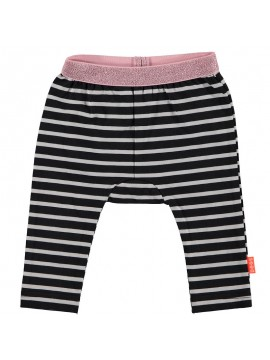 Bess Legging Striped Anthracite