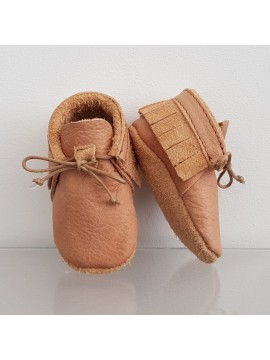 BY.E.Little Shoes Boho Baby Naturel Leather