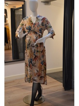 Love2Wait Zwangerschap Dress Flowerdessin