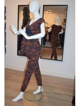 Love2Wait Zwangerschapspants Animal Print