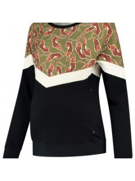 Love2Wait Nursing Sweater Leopard