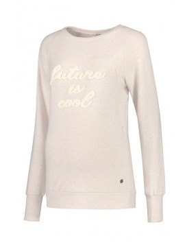 Love2Wait Nursing Sweater Futere is Cool Sand
