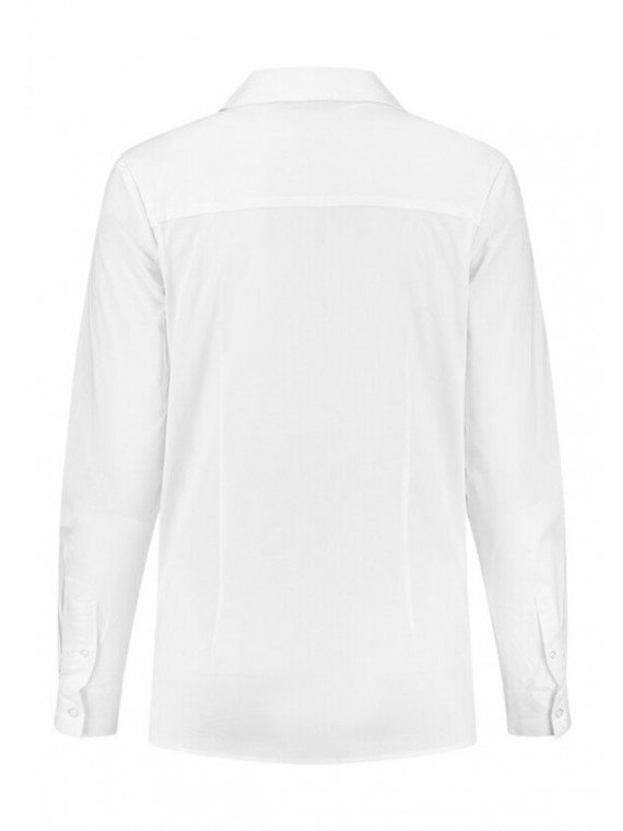 Love2Wait Zwangerschaps Blouse Sustainable White