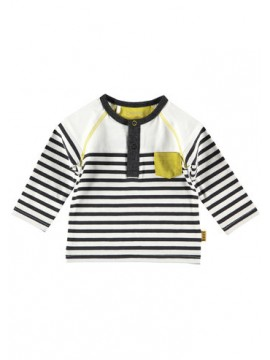 Bess Shirtje Striped White