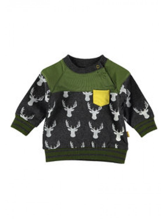 Bess Sweater Deer Anthracite