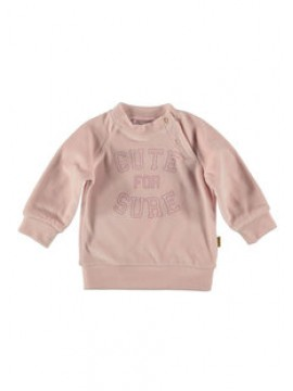 Bess Sweater Velvet Cute For Sure Pink