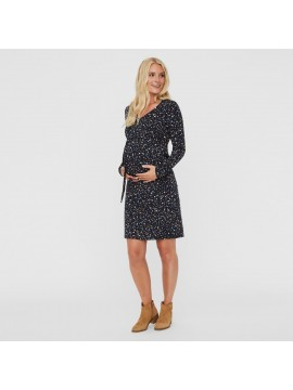 Mamalicious Zwangerschaps Dress Jenn Navy