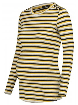 Supermom Tee Striped Multicolour