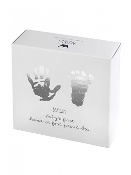 BamBam Foot Hand Print Grey