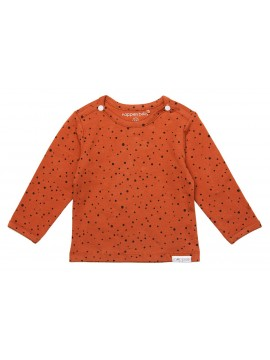Noppies longsleeve Kris Spicy Ginger