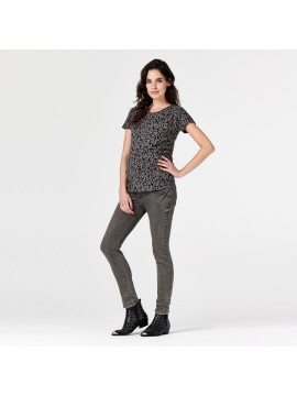 Supermom Zwangerschapjeans Denim Skinny Grey