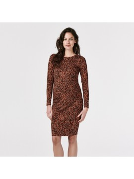 Supermom Dress Leopard Brown