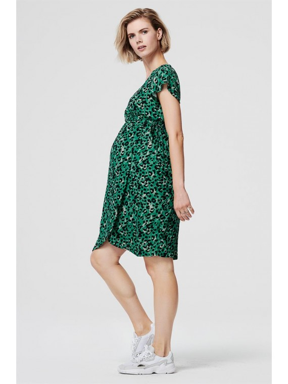 Supermom Zwagerschapsdress Sea Leopard