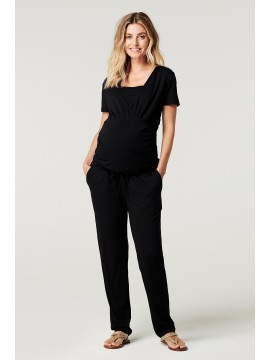 Noppies Nursing Jumpsuit Elma Black