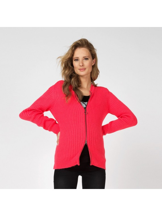 Supermom Vest Pink Rouge Red