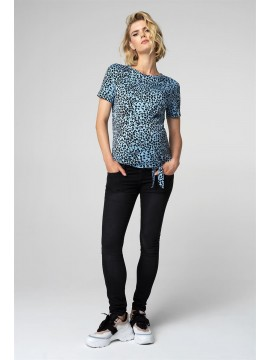 Supermom T-shirt Animal Knot Blue