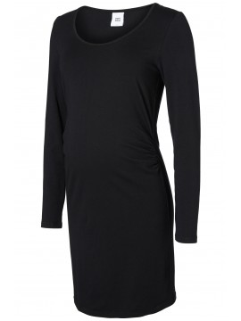 Mamalicious  Zwangerschaps Dress Organic Cotton Black
